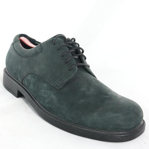 71d779f6c8f New ROCKPORT Mens Deep Green Leather Oxford Shoes.  M 5bb6c0ca9519966b1dadcb84